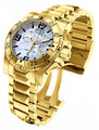 Invicta 6257 Reserve Excursion Quartz Chronograph 18K Gold Plated Stainless Steel Watch | Free Shipping