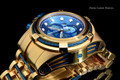 Invicta 12745 Reserve Bolt Zeus Rose Gold Tone Blue Dial Swiss Made Chronograph Stainless Steel Watch | Free Shipping