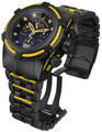 Invicta 14423 Jason Taylor Reserve Zeus Bolt Limited Edition Stainless Steel Bracelet Watch w/3 Slot Dive Case | Free Shipping
