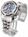 Invicta 13750 Reserve Men's Bolt Zeus Swiss Made Brown COSC Quartz Chronograph Bracelet Watch   Free Shipping