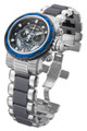 Invicta 80298 Reserve Capsule Blue Bezel Swiss Quartz Chronograph Grey Dial Two-Tone Stainless Steel Watch | Free Shipping