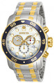 Invicta 80078 Pro Diver Scuba Quartz Chronograph Stainless Steel Bracelet Watch | Free Shipping