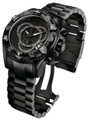 Invicta 6474 Reserve Excursion Swiss Quartz Chronograph All Black Stainless Steel | Free Shipping