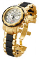 Invicta 80300 Reserve Capsule Swiss Quartz Chronograph Champage Dial Two-Tone Stainless Steel Watch | Free Shipping