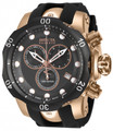Invicta 16152 Reserve 52mm Venom Swiss Chronograph Rose Gold Tone Polyurethane Strap Watch | Free Shipping