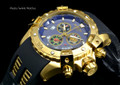Invicta 15856 Sea Thunder Specialty Blue Dial Swiss Quartz Chronograph Watch   Free Shipping