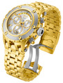 Invicta 80486 Reserve Men's Specialty Subaqua Silver Dial Gold Tone Swiss Quartz Chronograph Bracelet Watch | Free Shipping