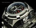 Invicta 16955 Reserve 53mm Bolt Zeus Tria Silver Tone Swiss Quartz Chronograph GMT Stainless Steel Bracelet Watch | Free Shipping