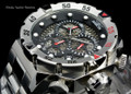 "Invicta 19180 I-Force 52mm ""Twisted Metal"" Quartz Chronograph Stainless Steel Bracelet Watch 19180 