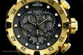 "Invicta 19182 I-Force 52mm ""Twisted Metal"" Black Dial Quartz Chronograph Stainless Steel Bracelet Watch 