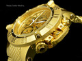Invicta 17615 Men's Subaqua Noma III Swiss Quartz Chronograph Gold Tone Dial Watch | Free Shipping