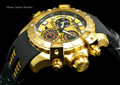 Invicta 18859 Sea Thunder Specialty Gold Tone Dial Swiss Quartz Chronograph Watch | Free Shipping