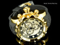 Invicta 20400 Sea Dragon Gen. II Swiss Made Chronograph White Dial 18k Gold Tone Case Silicon Strap Watch | Free Shipping