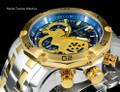 Invicta 22762 Pro Diver Scuba 3.0 Quartz Chronograph Blue Dial Two Tone Bracelet Watch | Free Shipping