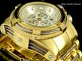 Invicta 12743 Reserve Bolt Zeus Swiss Quartz Chronograph White M.O.P Dial Bracelet Watch | Free Shipping