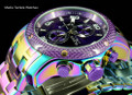 Invicta 24160 ProDiver 48mm Purple Dial Iridescent Finish Bracelet Watch