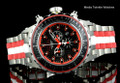 Invicta 52MM Reserve Specialty 12779 Subaqua Red Dial Titanium Case Bracelet Watch