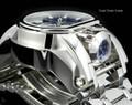 Invicta 52mm Reserve Bolt Zeus MAGNUM Swiss Quartz Dual Movement Bracelet Watch 25207