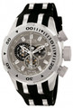 Invicta 0981 Bolt II Reserve Swiss Made Chronograph BIG DATE Black Polyurethane Strap Watch | Free Shipping