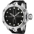 Invicta 0804 Reserve Venom Collection GMT Black Polyurethane Watch | Free Shipping