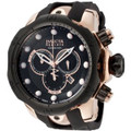 Invicta 0361 Men&#039;s Reserve Venom Collection Chronograph Black Polyurethane Watch | Free Shipping