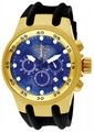 "Invicta 1510 Men's S1 Quartz Chronograph ""Baby venom"" Stainless Steel Case Polyurethane Strap Watch | Free Shipping"