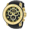 Invicta 0415 Men's Pro Diver Collection Sea Hunter Chronograph Black Polyurethane Watch | Free Shipping
