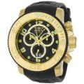 Invicta 0415 Men's Pro Diver Collection Sea Hunter Chronograph Black Polyurethane Watch | Free Shipping