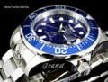 Invicta 3045 Men's Pro Diver Collection Grand Diver Automatic Stainless Steel Bracelet Watch | Free Shipping