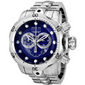 Invicta 6717 Men's Reserve Venom Collection Chronograph Blue Dial Stainless Steel Watch | Free Shipping