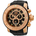 Invicta 0416 Sea Hunter Swiss Made Quartz Chronograph 18k Rose Gold-Plated Stainless Steel Watch | Free Shipping