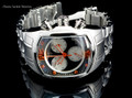 Invicta 1686 Men's Lupah Revolution Swiss Made Quartz Chronograph Stainless Steel Bracelet Watch | Free Shipping