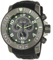 Invicta 0413 Men's Pro Diver Collection Sea Hunter Chronograph Black Polyurethane Watch | Free Shipping