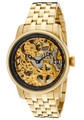 Invicta 10240 Men's Specialty Mechanical 18K Gold Plated Stainless Steel Bracelet Watch | Free Shipping