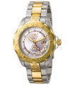 Invicta 5127 Grand Diver Swiss Quartz GMT 18K Gold Plated Two-Tone Stainless Steel Bracelet Watch | Free Shipping