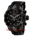 Invicta 0949 Reserve Venom Swiss Quartz Chronograph Combat Mid-Size Polyurethane Strap Watch w/ 3 SLOT DIVE CASE | Free Shipping