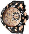 Invicta 0919 Reserve Specialty Swiss Quartz Chronograph Rose Gold Poly Strap Watch | Free Shipping
