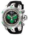 "Invicta 10957 Reserve Men's Venom ""Puppy Edition"" Swiss Quartz Chronograph Polyurethane Strap Watch 