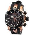 Invicta 0948 Reserve Venom MID-SIZE Swiss Quartz Chronograph Rose-Gold Tone Polyurethane Strap Watch | Free Shipping