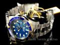 Invicta 12566 Men's Grand Diver Quartz Stainless Steel Bracelet Watch w/ 3-Slot Dive Case | Free Shipping