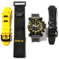 Invicta 10035 Men&#039;s Coalition Forces Black Label Swiss Made Quartz Chronograph Bracelet Watch | Free Shipping