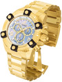 Invicta 0341 Reserve FULL SIZE Men's Arsenal Swiss Quartz Big Date Stainless Steel Bracelet Watch | Free Shipping