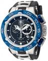 Invicta 12881 Subaqua Noma V Swiss Quartz Chronograph Black Polyurethane Strap Watch | Free Shipping