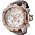 Invicta 13775 Reserve Venom Collection Chronograph Brown Leather Watch | Free Shipping