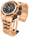 Invicta 12744 Reserve Bolt Zeus Rose Gold Tone Swiss Made Chronograph Stainless Steel Watch | Free Shipping