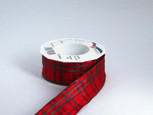 Wired Nottingham Plaid Red | 22 yards |  choice of 4 widths