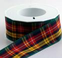 Buchanan Tartan Ribbon , 25 yards, choice of 5 widths