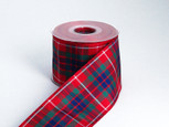 Holiday Tartan Plaid - Authentic Clan Frazer Ribbon | 25 yards | choice of 5 widths