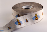 Bees Ribbon, 1-12 inch, increments of 2 yards or 27 yard roll