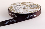 Love Birds Ribbon, 5/8 inch ribbon,  5 yard increments